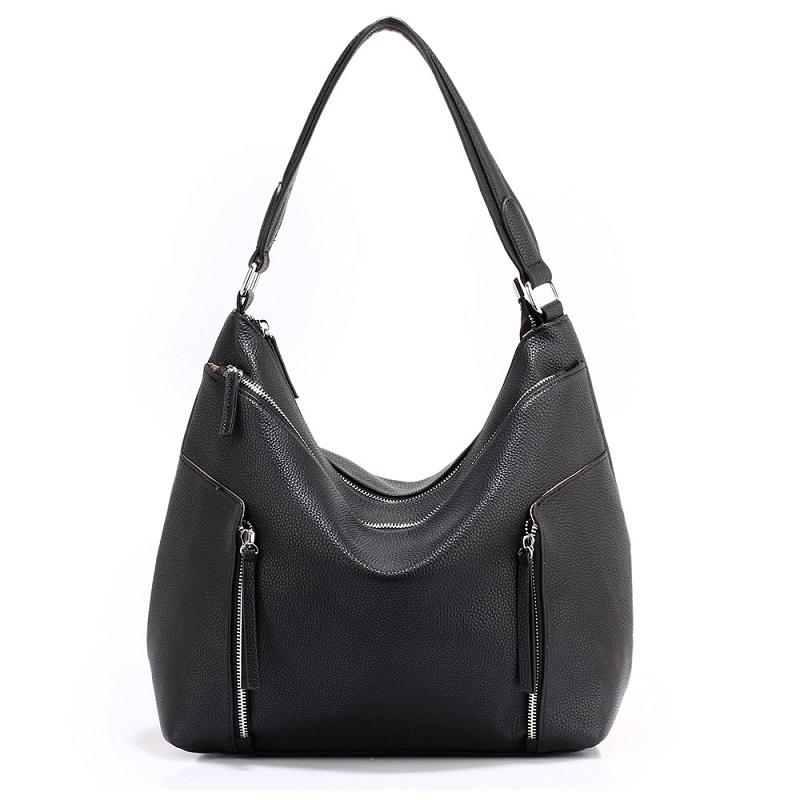 Luxusná dámska kabelka cez rameno - čierna - 11620324  532679ec3cc