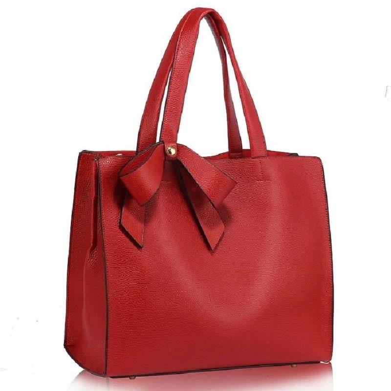 aac35e6666 Dámska kabelka do ruky - červená - 11620289